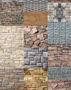 Pedra para parede