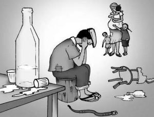 SINAIS E SINTOMAS DE ALCOOLISMO
