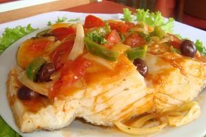 Receita de bacalhau a portuguesa