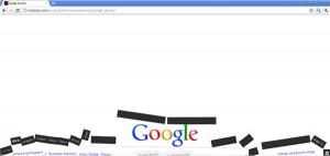 Google Gravity veja o Google caindo