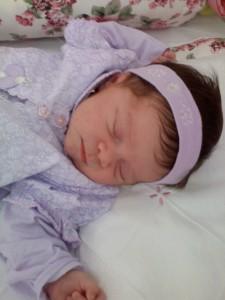 Reflexos do recém  nascido