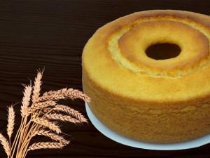 Receita de bolo de trigo