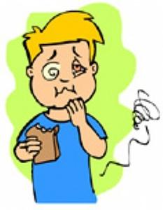 Intoxicação alimentar sintomas