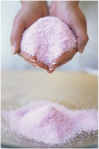 Banho de sal grosso e mel