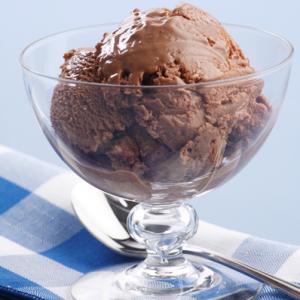 Receita para fazer sorvete de chocolate
